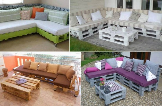 Pallet Lounge Suite Easy Video Instructions Lots Of Ideas