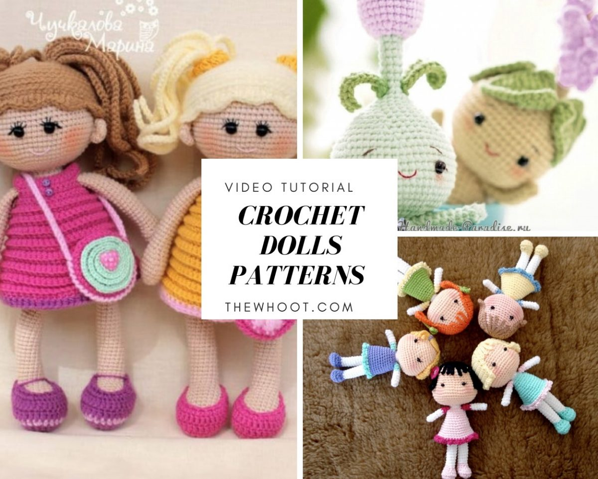 Crochet dolls patterns amigurumi easy video tutorial advertisement dt1010fo