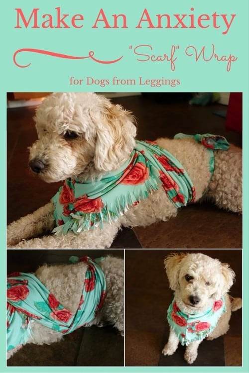 Dog Anxiety Wrap Diy Scarf Tutorial Easy Video Instructions