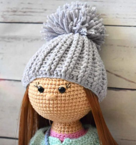 Molly Crochet Doll Pattern Cute Amigurumi Project