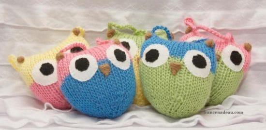 Knitted Owls Patterns Pinterst Top Pins Cutest Ideas