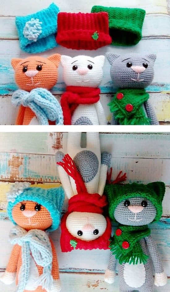 Amigurumi Kitty Cats! » Loganberry Handmade | 941x550