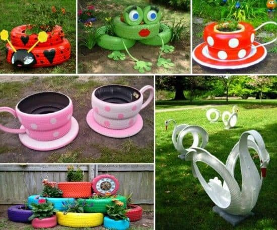 weve rounded up tire ideas for backyard and you are going to love what you see they are easy to recreate and they look great