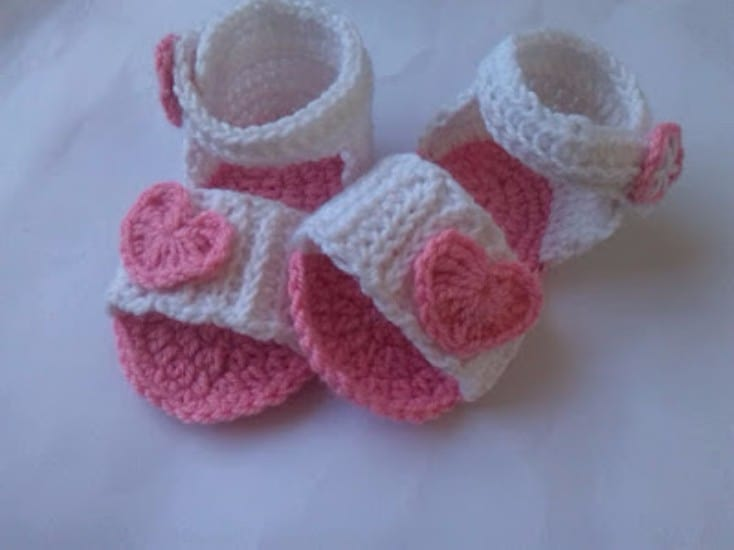 Crochet Baby Sandals Patterns Best Cutest Tutorials