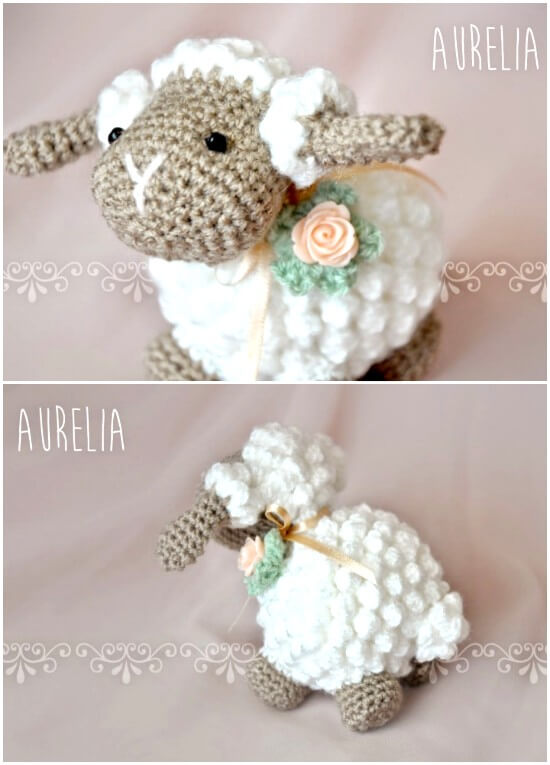 Cutest Crochet Lamb Patterns With Teddys Blankets Hats And More