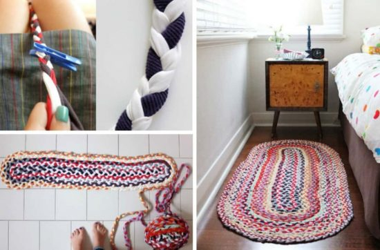T Shirt Braided Rug Diy Tutorial Video Instructions