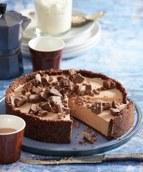 Easy No Bake Toblerone Cheesecake Ready In 30 Minutes