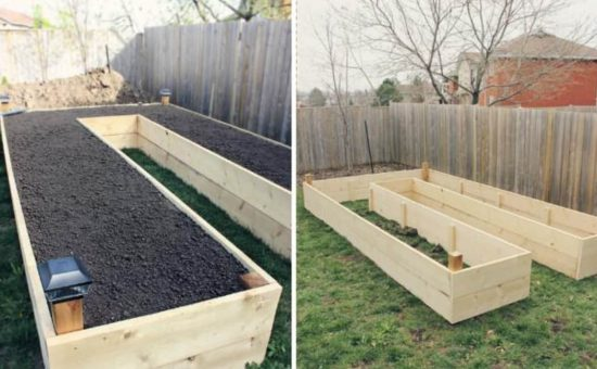 Raised Garden Bed Planter Via Two Peas And Their Pod Report