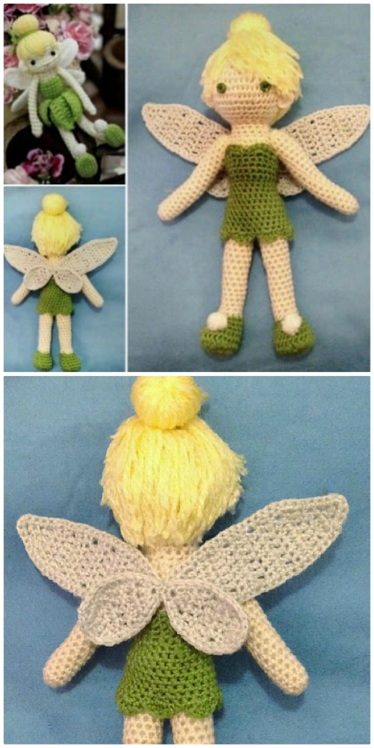 Super Cute Tinkerbell Crochet Projects | The WHOot | 1072x537
