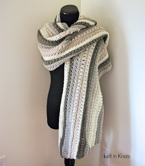 Crochet Blanket Scarf Gorgeous Patterns And Video Tutorial
