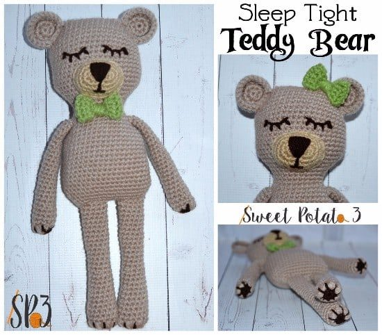 Crochet Teddy Bear Children Hat, Scarf, boot set with SOFT TOY age ...   482x550