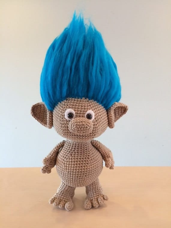 Crochet Troll Doll Best Free Easy Patterns Tutorials