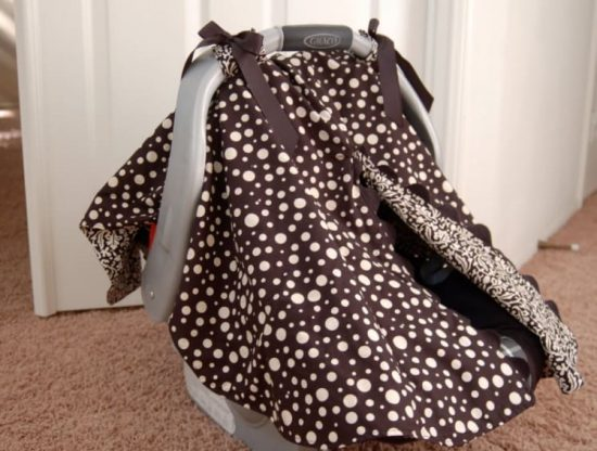 Car Seat Canopy Sewing Project Ideas Video Tutorial