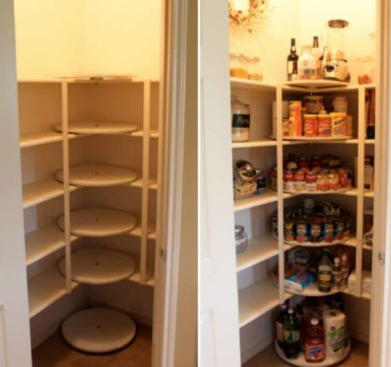 Does Your Pantry Look Like A Hot Mess? Everyone Loves These Lazy Susan  Pantry Shelves And You Will Too! Check Out The Ideas U2026