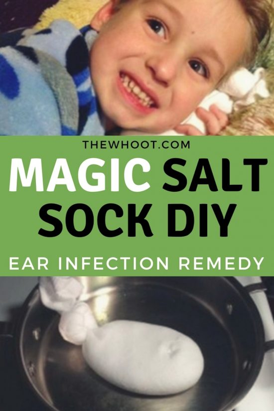 Magic Salt Sock For Ear Infections Watch The Video
