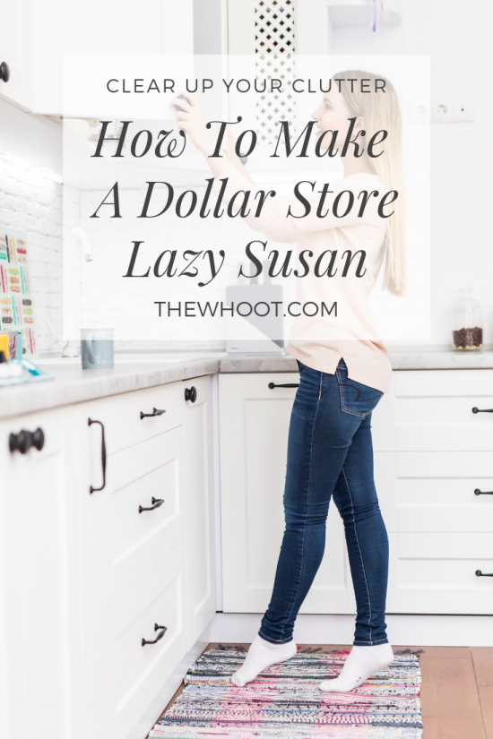 How To Make A Lazy Susan From Dollar Tree The Whoot