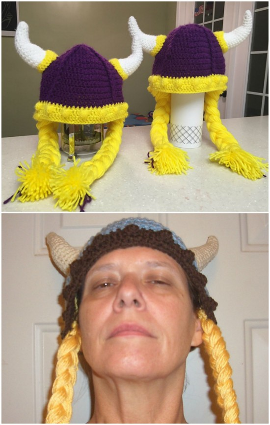 Crochet Viking Hat Patterns Baby To Adult Sizes For Everyone