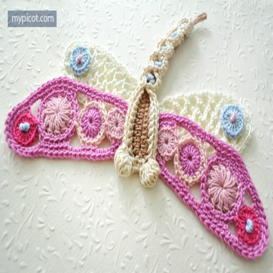 Crochet Dragonfly Patterns Easy Video Instructions