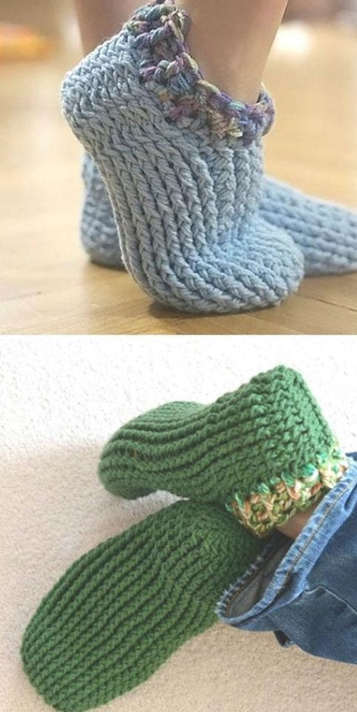 Our Favorite Crochet Slippers Collection The Whoot