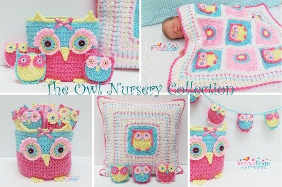 Crochet Owl Nursery Patterns You Are Going To Love
