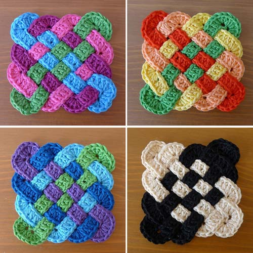 Celtic Crochet Coasters Pattern Ideas Video The WHOot Fascinating Crochet Coaster Pattern