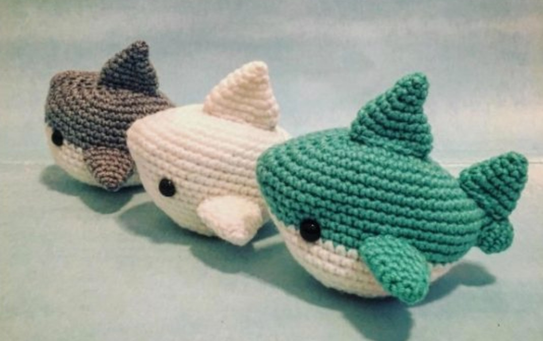 Shark Crochet Patterns All The Cutest Ideas The Whoot