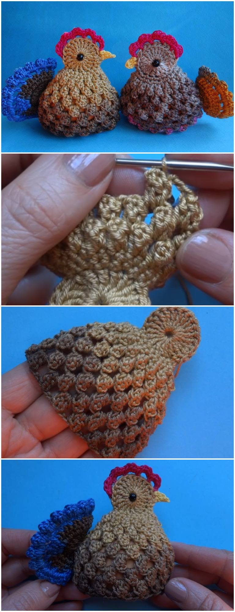 Crochet Chicken Pattern Awesome Inspiration Design