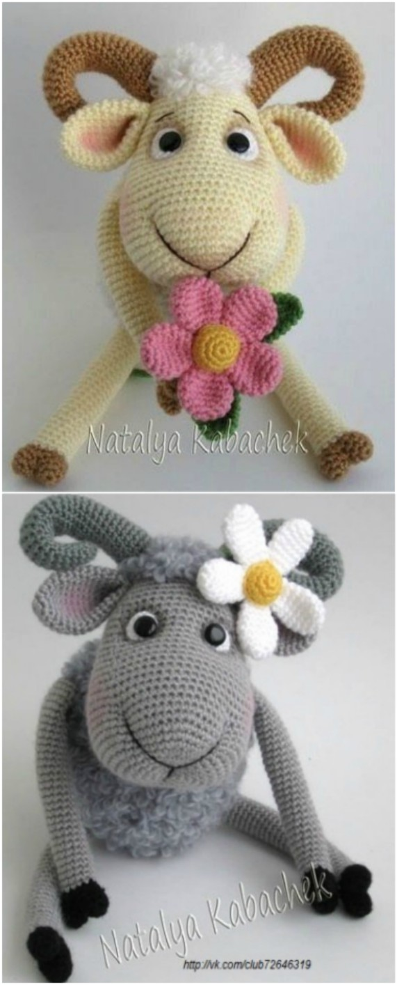 Crochet Bobble Sheep Lots Of Gorgeous Free Patterns