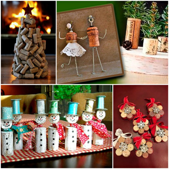 Wine Cork Christmas Crafts Easy Ideas Video Tutorial