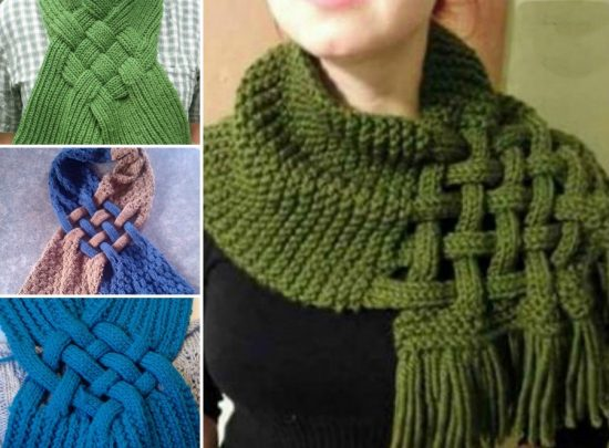 Spanish Crafter Knitted Cowl