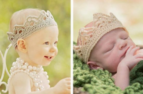 Crochet Baby Crown Pattern Free Easy Video Tutorial