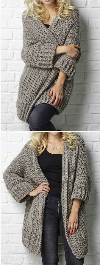 Oversized Chunky Sweater Pattern Gorgeous Crochet Ideas