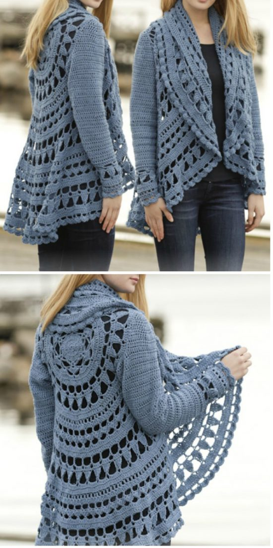 Diy Crochet Lace Jacket Pattern Ideas The Whoot