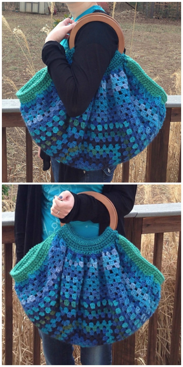 crochet fat bottom bag free pattern