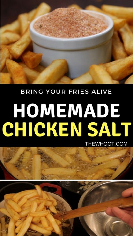 How To Make Chicken Salt Easy Video Instructions