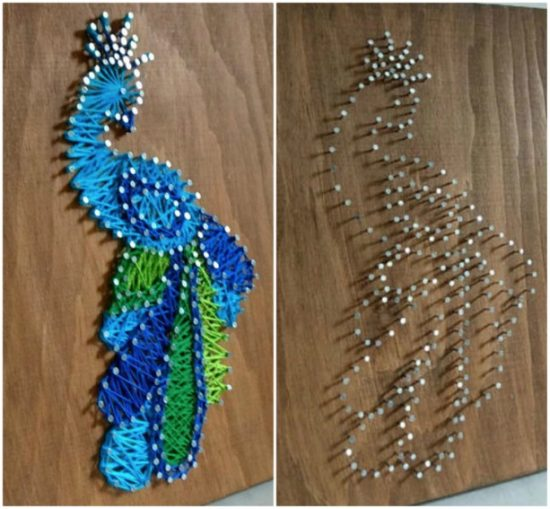 String Nail Art Patterns Pinterest Best The WHOot Awesome String Art Patterns