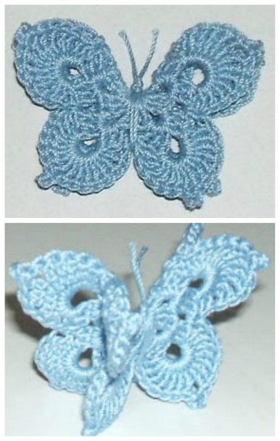 You\'ll Love These Crochet Butterflies | The WHOot
