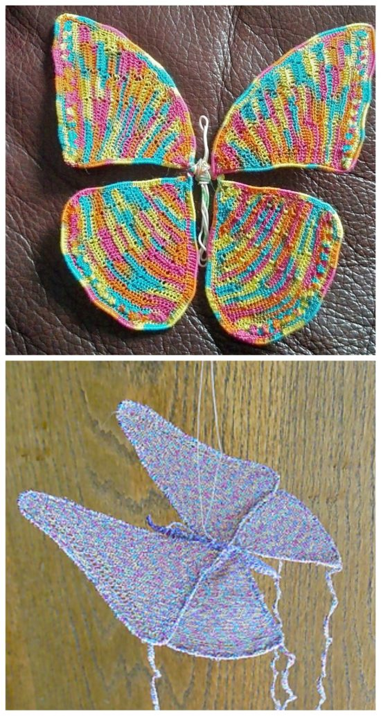 Youll Love These Crochet Butterflies The Whoot