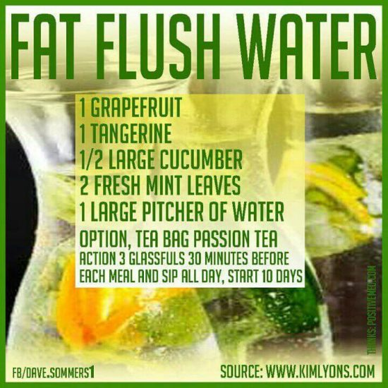 Dr  Oz Fat Flush Water Recipe - Biggest Loser| The WHOot