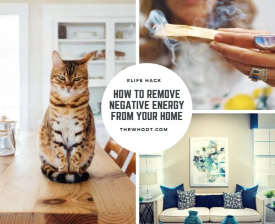 Remove negative energy from your home video tutorial Negative energy in house
