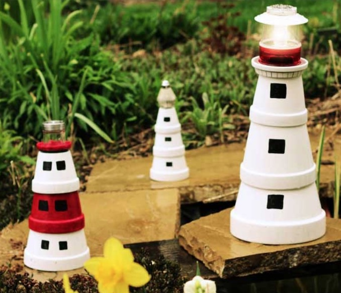 Clay Pot Lighthouse Directions Quick Video Instructions