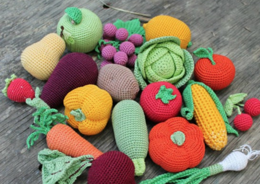 Crochet Fruit And Vegetable Patterns All The Best Ideas