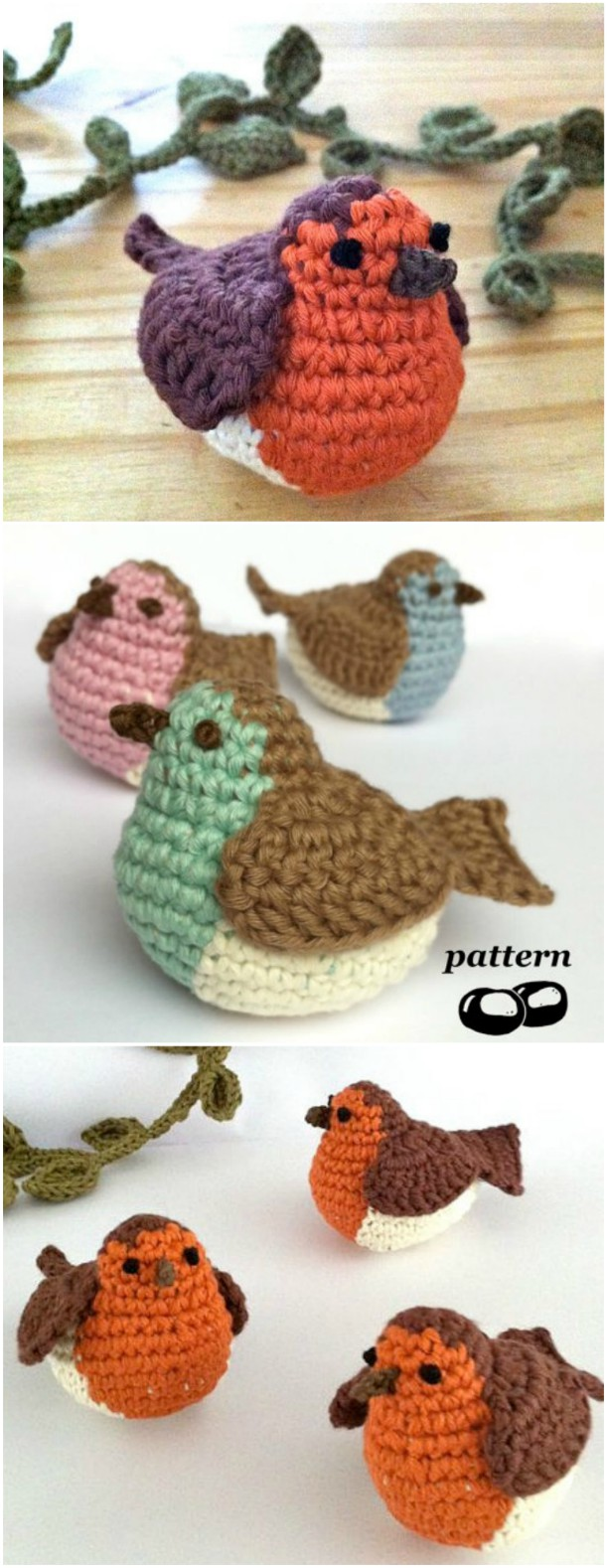Valentine Love Birds Crochet Kit by Wool Couture | 1578x611