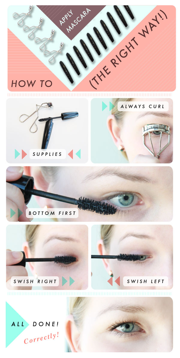 How To Properly Apply Mascara Without Clumping Video