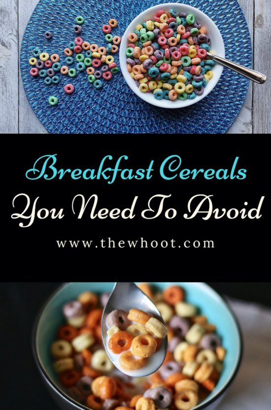 breakfast cereals to avoid