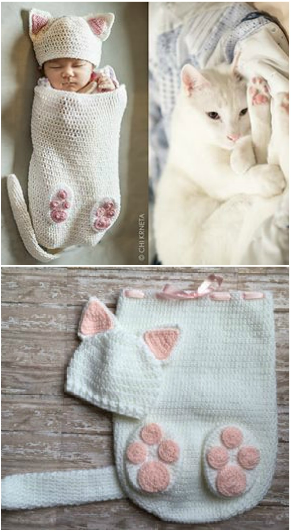 Crochet Baby Cocoons All The Cutest Ideas You'll Love | 1063x582