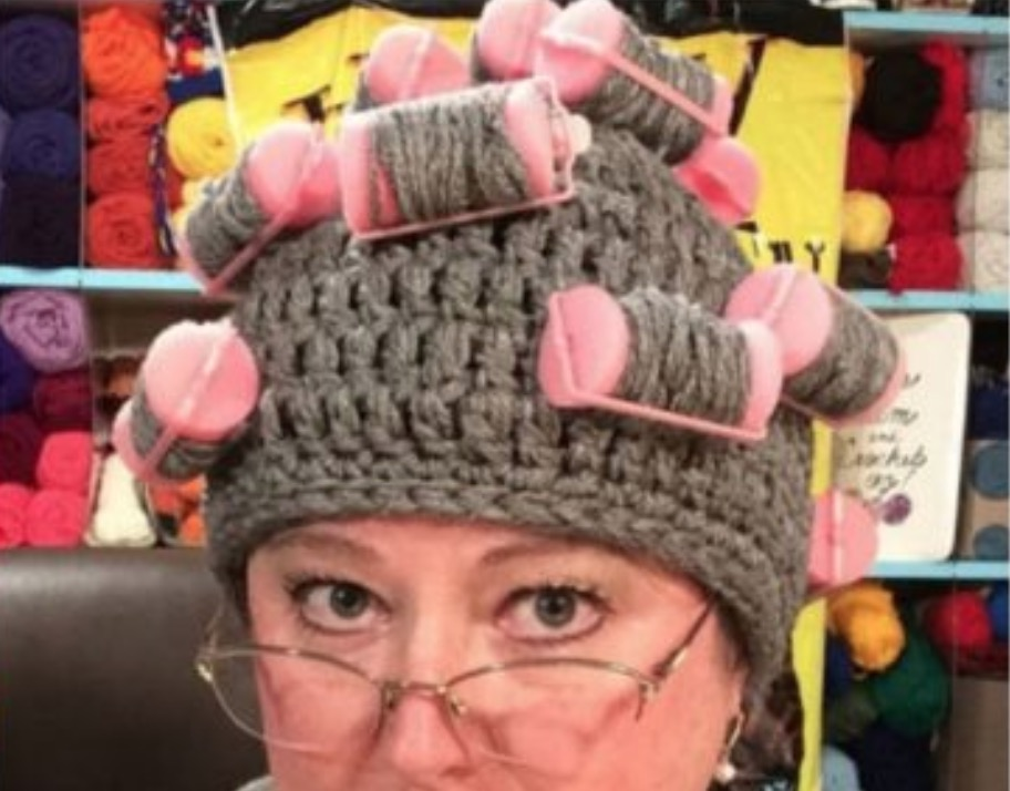 Curler Crochet Hat Free Pattern Video Tutorial Included