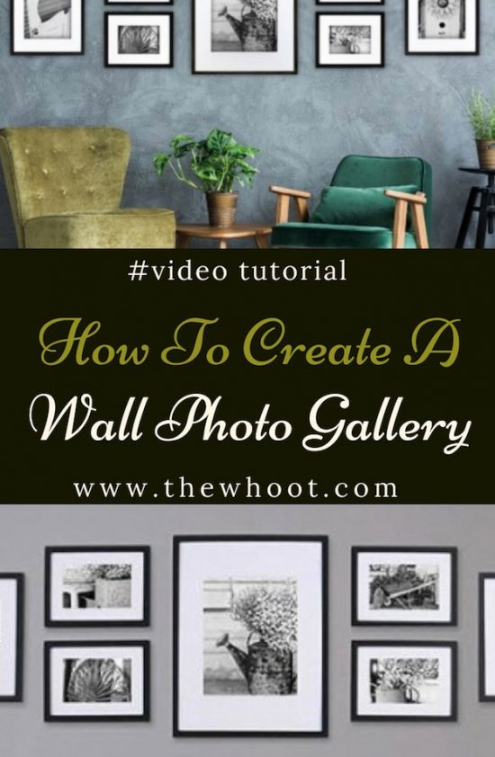 create gallery wall