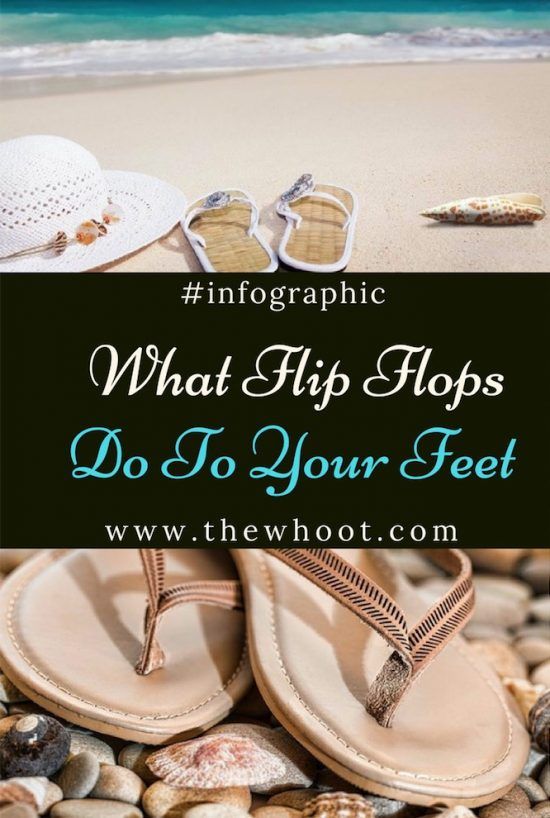 how flip flops affect your feet
