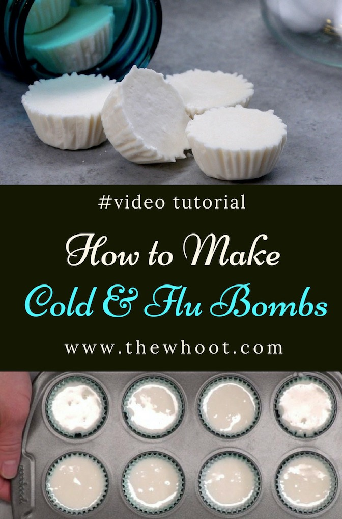 cold and flu shower bombs